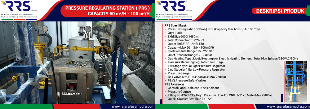 CNG Equipment Supply PRS System
